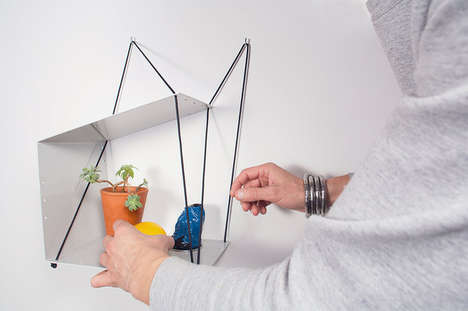Unconventional Rope Shelving
