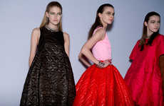 Feminine Heritage Collections - This Christian Dior Fall Presentation Exudes a Sophisticated Air