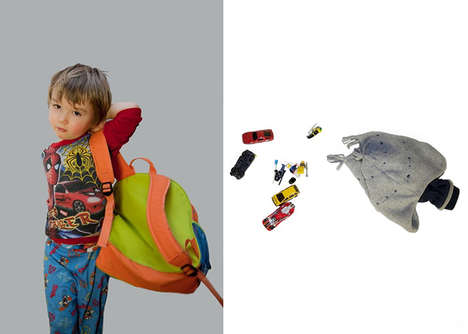 Curious Snooping Bag Photography - This Personal Paraphernalia Photography Series is Invasive