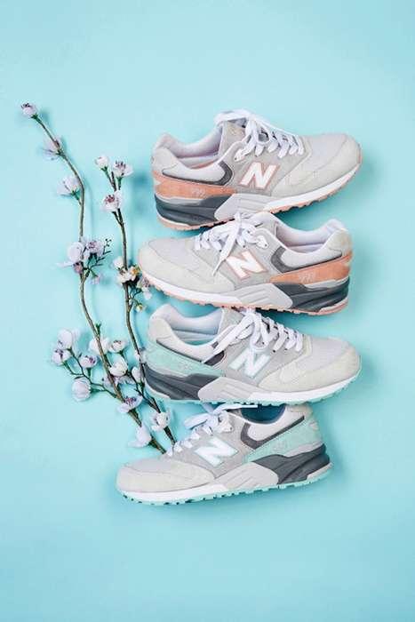 Pretty Pastel Sneaker Lookbooks