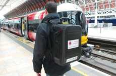 Cellular-Networking Knapsacks - Thanks to Vodafone, You Can Carry a Cellular Network Backpack