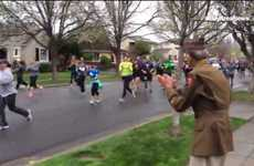 WWII Veteran Celebratory Runs - The San Jose 408K Race Had a Very Special Guest Attending