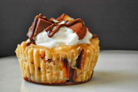 Girl Scout Cookie Cheesecakes