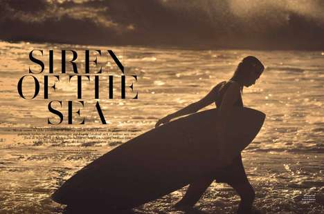 Chic Surfer Editorials