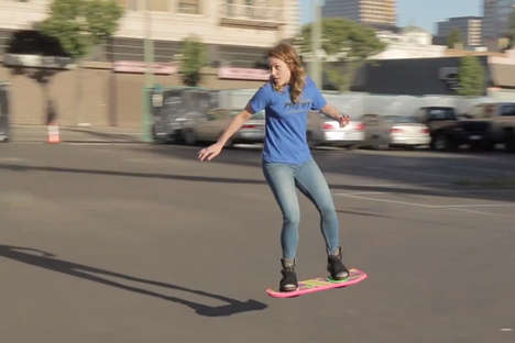 Gravity-Defying Real Hoverboards - The Real Hoverboard By HUVr Brings Us Back to the Future