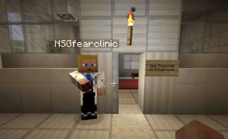 Virtual Anti-Smoking Establishments - This Gamer Opened Up an Anti-Smoking Clinic in Minecraft