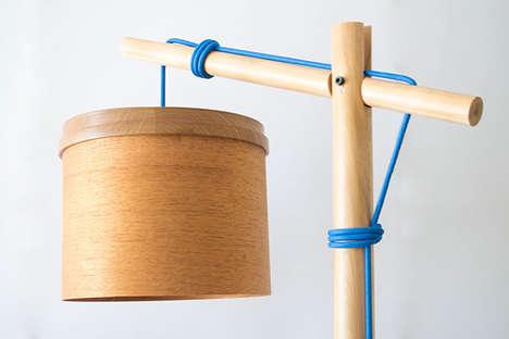 Warm Wooden Illuminators