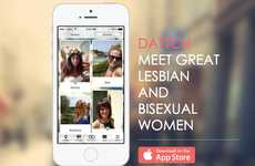 Lady-Locating Dating Apps - The Dattch App is a Queer-Friendly Space for Women