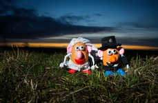 Spud Wedding Photography - These Toy Wedding Photos Show Mr. & Mrs. Potato Head Getting Hitched