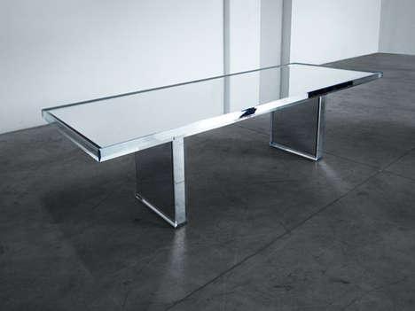 Minimalist Reflective Furniture