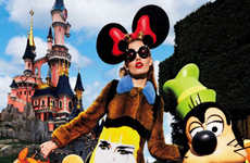Tongue-in-Cheek Disney Editorials - Vogue Japan's Issue Keeps Our Inner Child Alive