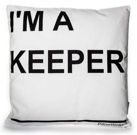 Honestly Cheeky Printed Pillowcases