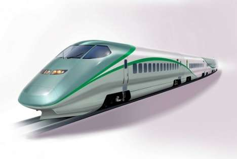 Luxurious Super Train Spas - Japan's Bullet Trains Will Now Feature Hot Foot Baths
