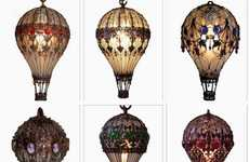 Whimsically Baroque Lamps