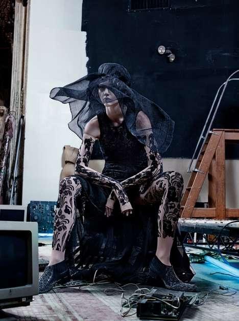 Dramatic Avant-garde Fashion