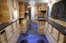Luxurious Ice Fishing Cabins