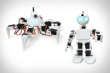 Effortless Robot-Building Kits