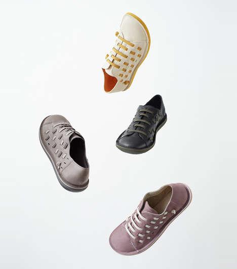 Elastic Interwoven Shoes