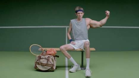 Hilarious Sport Benefit Ads - New USTA Ad Campaign Displays the Benefits of Sports