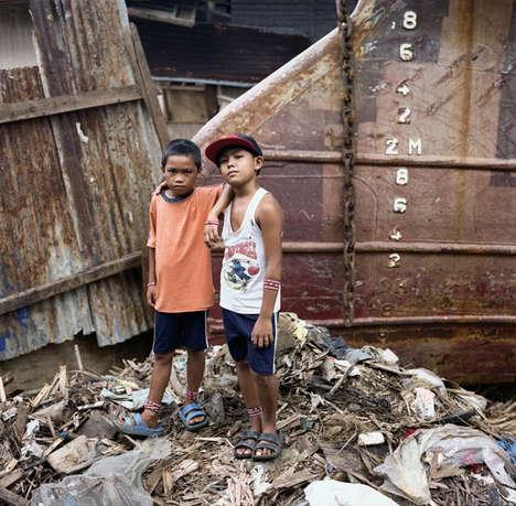 Catastrophic Post-Typhoon Photography
