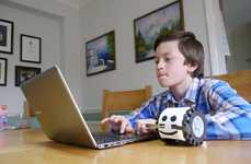 Code-Teaching Robots - Robotiky the Educational Robot Teaches Kids How to Program