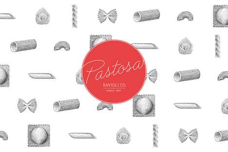 Authentic Italian Pasta Branding