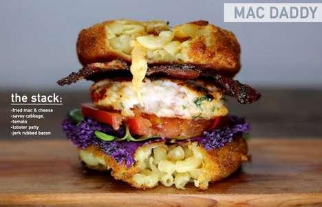 Overstuffed Gluttonous Burgers