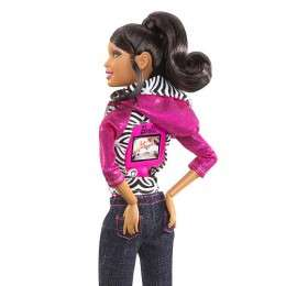 Video Camera Dolls - The Barbie Video Camera Doll Keeps Everyone Connected While Having Fun