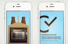 Microbrew Beer-Testing Apps - Craft Check is an App That Helps You Verify Microbrew Beers