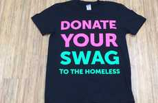 Swag Donation Startup Giveaways - These Start-Ups are Donating Their SXSW Swag to the Homeless