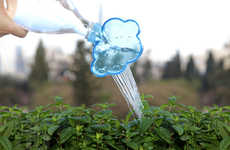 Water Bottle Watering Cans - The Rainmaker Attaches to Bottles to Help People Water Their Plants