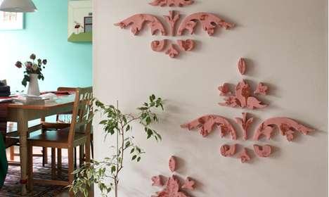 Sculpted Wall Treatments