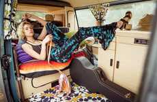 Adventurously Boho Lookbooks - The Urban Outfitters Spring 2014 Catalog is Youthfully Free-Spirited