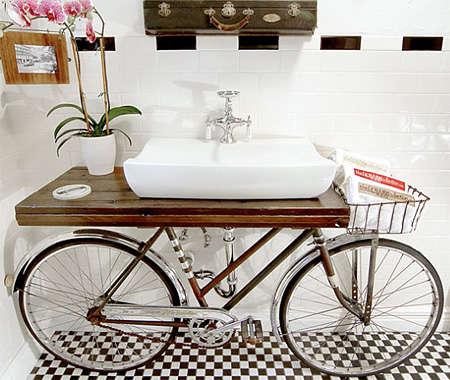 Bike-Infused Bathrooms