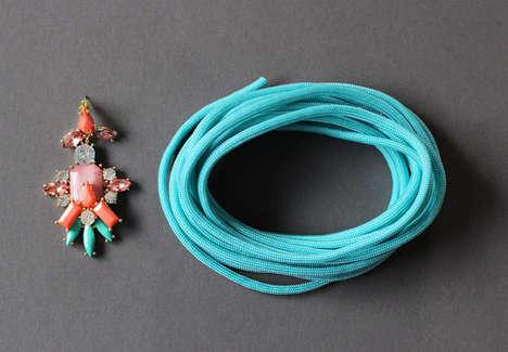 Jeweled Paracord Bracelets