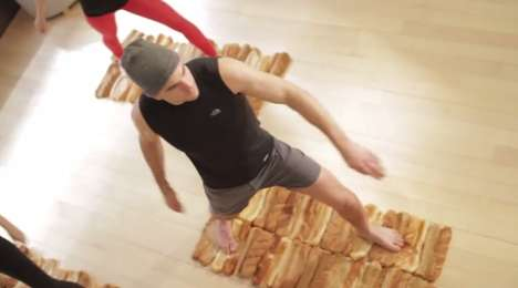 Bread-Infused Yoga Spoofs