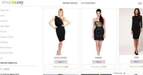 Unused Clothing Rental Services