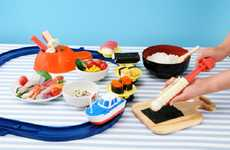 At-Home Sushi Conveyor Sets - This Conveyor Belt Sushi Set Makes Assembly and Eating Easy