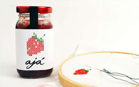 Cross-Stitch Preserve Packaging