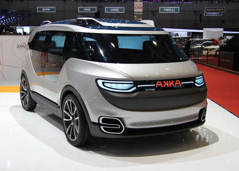 Passenger-Only Eco Autos - The 'AKKA link&go; 2.0' Concept is a Hands-Free Electrical Car