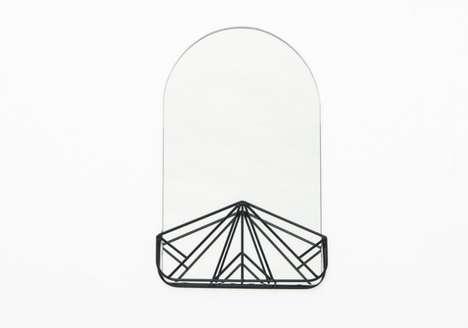 Geometric Beauty Mirrors