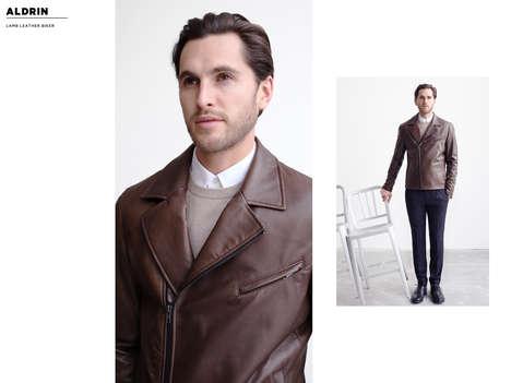 Regal Minamlist Leather Lookbooks