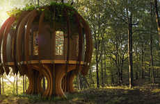 Tranquil Fairytale Treehouses