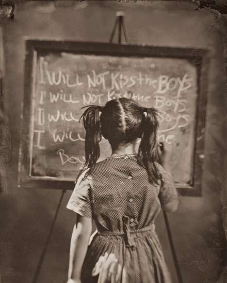 Punished Children Photography