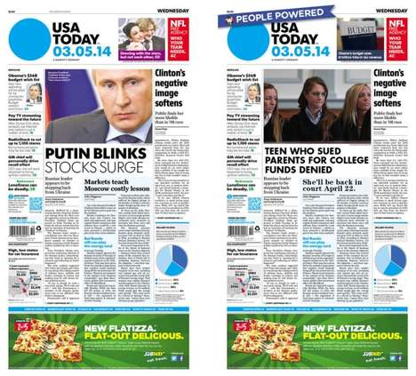 People-Powered Newspaper Headlines