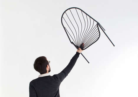 Drape-Like Stackable Chairs