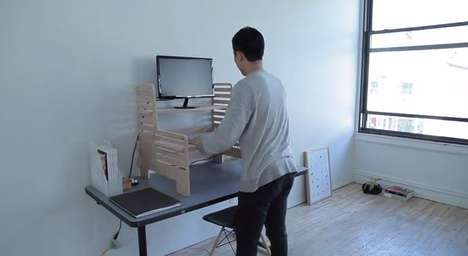 Ergonomic Upstanding Desks