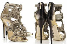 Nautically Knotted Footwear - The Jimmy Choo Spring/Summer Line Will Rope You In