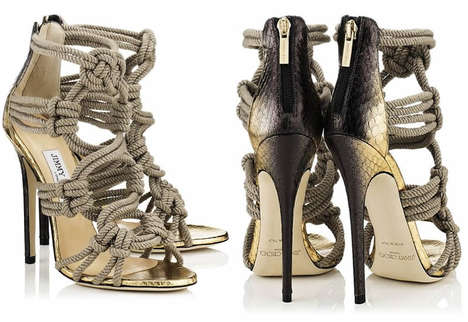 Nautically Knotted Footwear