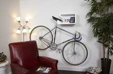 Versatile Bicycle Wall-Mounts - The 'Shelfie' Lets Your Bicycle Safely Hang Out on Your Wall